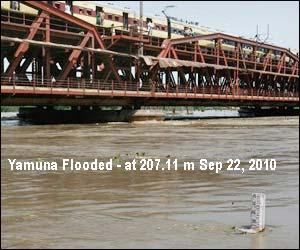 Yamuna Flood 2010